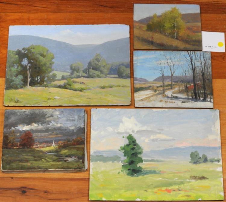 From Estate Herbert E. Abrams Five NE Landscapes