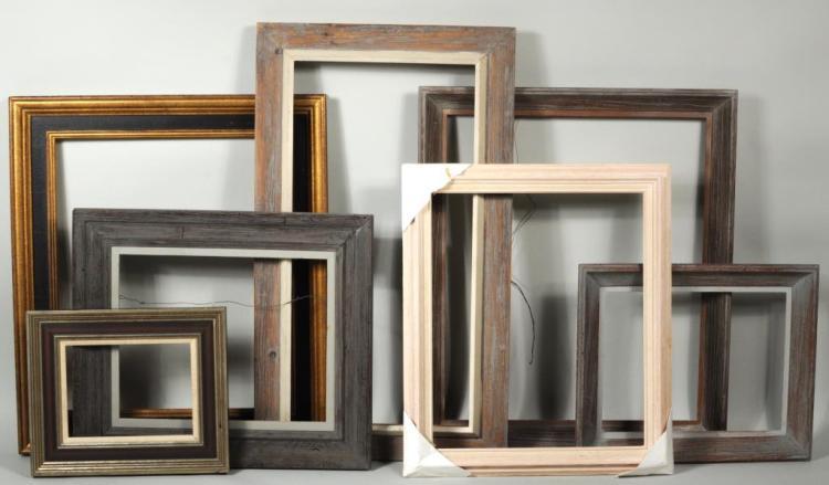 From Estate Herbert E. Abrams 7 Wooden Frames