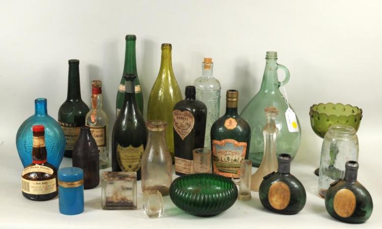 From Estate Herbert E. Abrams Group Glassware