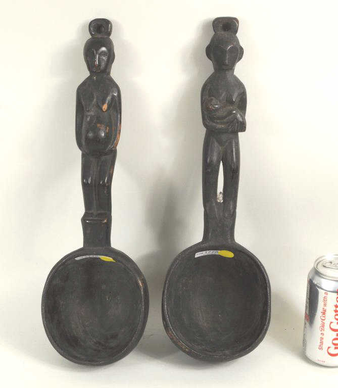 Two Ifugao Ceremonial Ladles