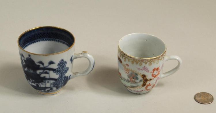 Two Chinese Export Teacups