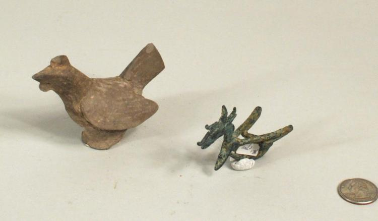 Two Early Chinese Animal Form Works