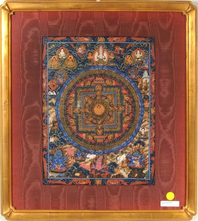 Contemporary Tibetan Thangka