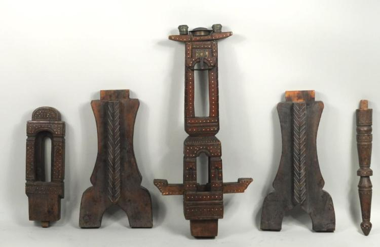 Carved Wood Mosque Altar Parts