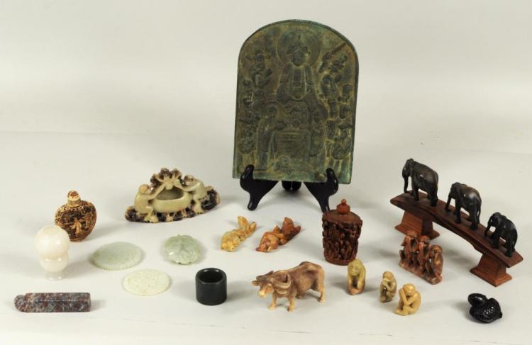 Group Chinese Decorative Objects