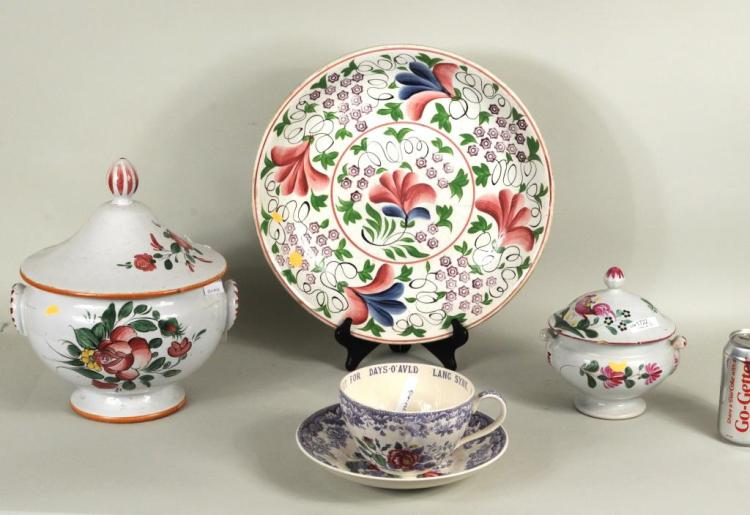 Group Porcelain & Pottery