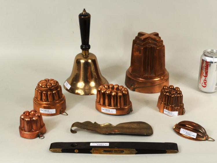 Group Nine Brass & Copper Items