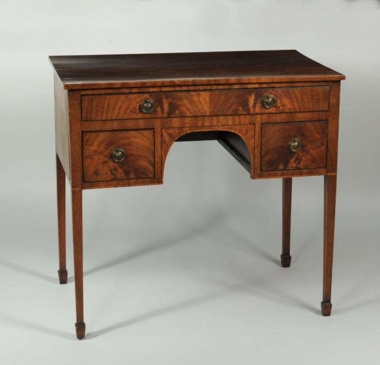 George III Mahogany Ladies Dressing Table
