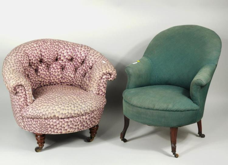 Two Upholstered Chairs