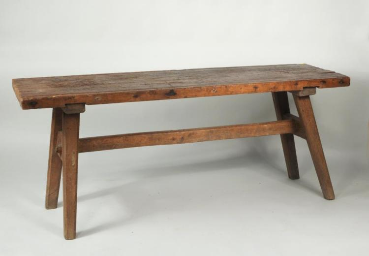 Rustic Pine & Oak Work Table