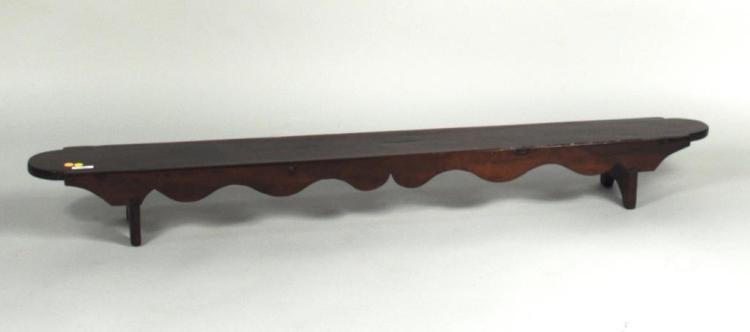 French Provincial Fruitwood Kneeling Bench