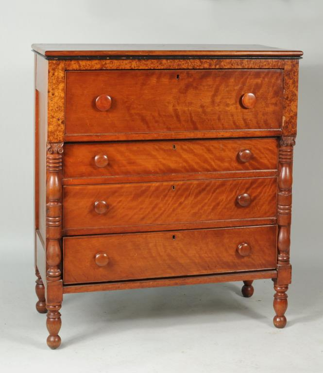American Classical Maple & Cherry Chest