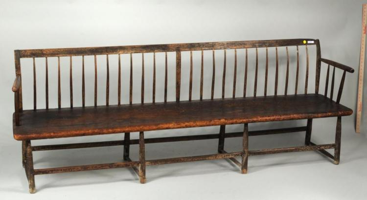 American Country Deacon's Bench