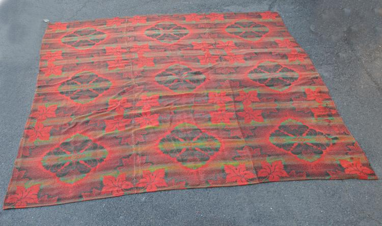Room Size Ingrain Carpet