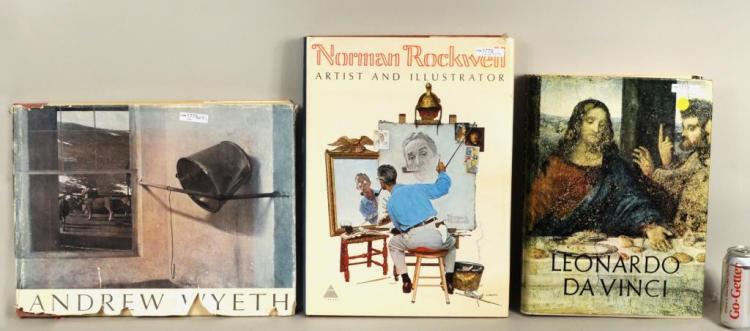 Three Art Books Including