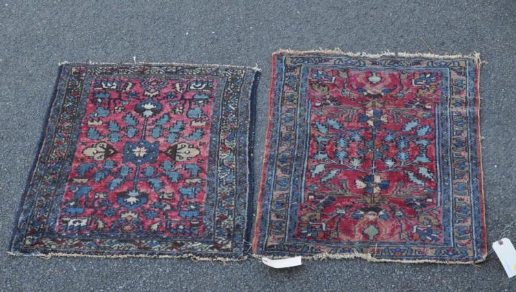 Two Similar Sarouk Rugs