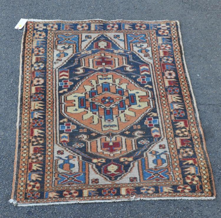Small Persian Heriz Rug