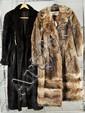Two Ladies Fur Coats