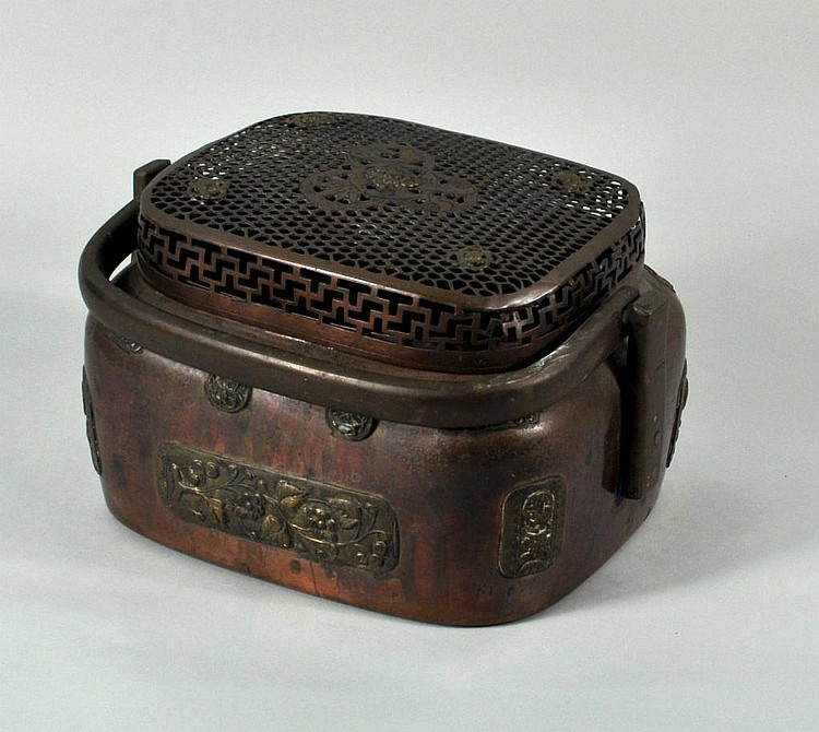 Asian Copper & Bronze Hand Warmer