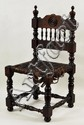 Continental Spindle Back Child's Chair, Woven Seat