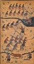 Indonesian Mounted Batik