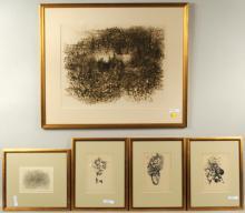 Richard Claude Ziemann, Five Framed Works