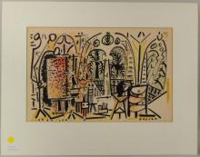 Pablo Picasso Unsigned Lithograph