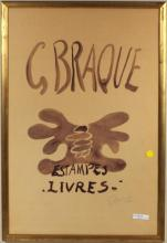 Georges Braque Framed Exhibition Poster