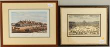 Two Architectural Prints