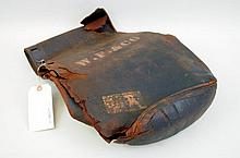 Wells Fargo Leather Saddle Bags