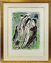 Mark Chagall, Original Lithograph,