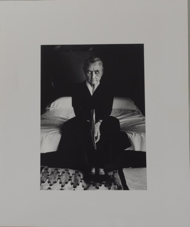 John Loengard, Photograph Georgia O'Keefe