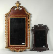 Two Antique Mirrors