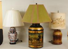Group Three Lamps
