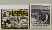 Two Vintage New England Hurricane/Flood Pamphlets