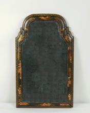Queen Anne Japanned Wall Mirror