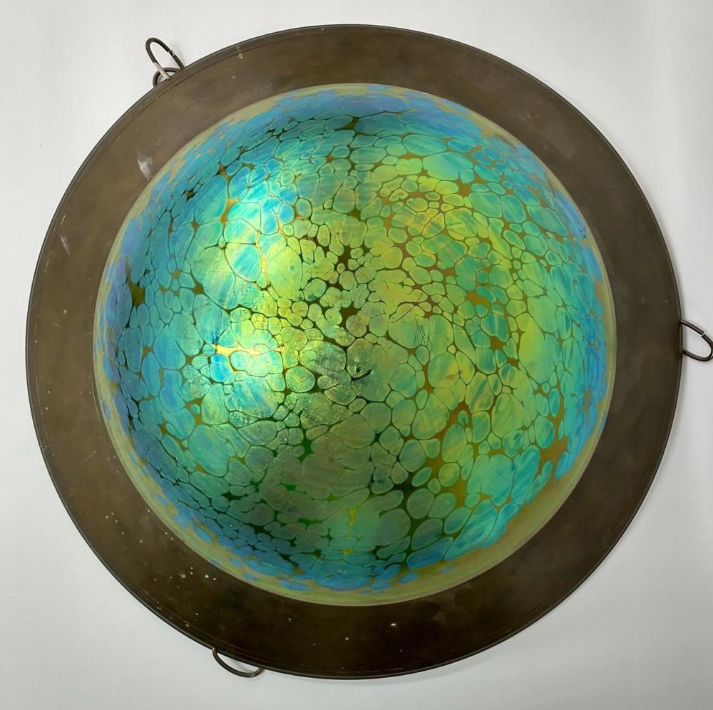 Antique Loetz Art Glass Shade