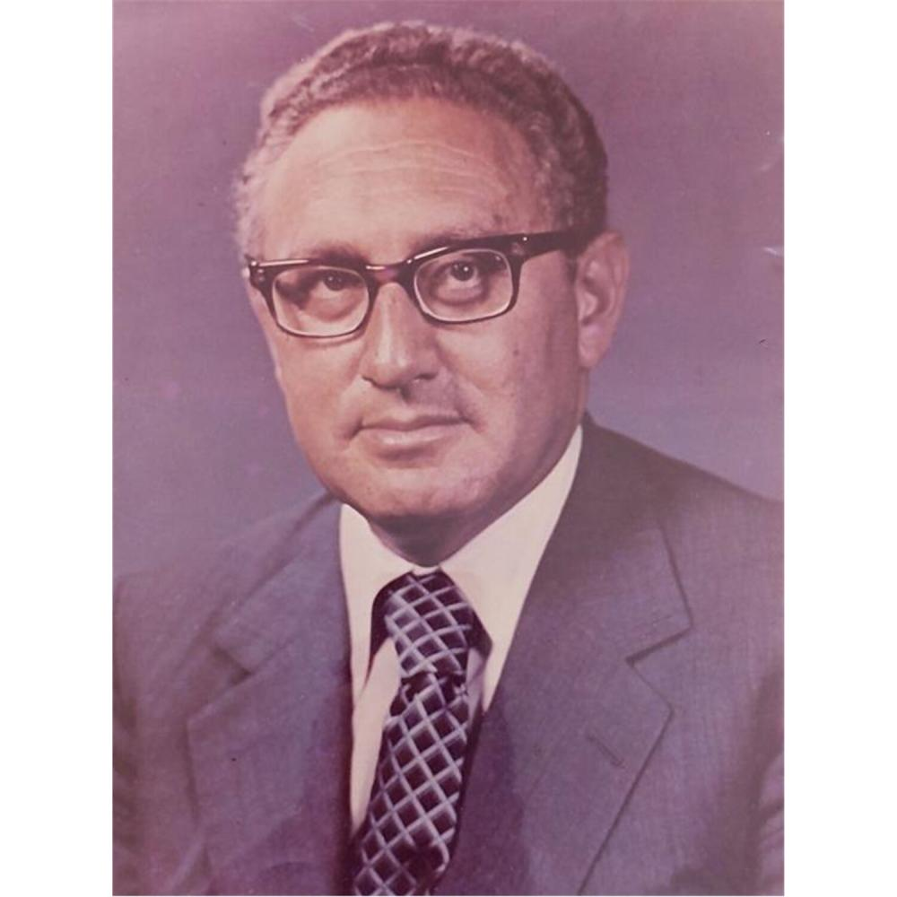 Signed Photo of Henry A. Kissinger