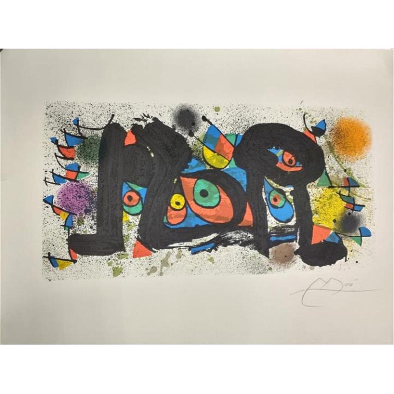 Lithograph by Juan Miro, Spanish (1893-1983)