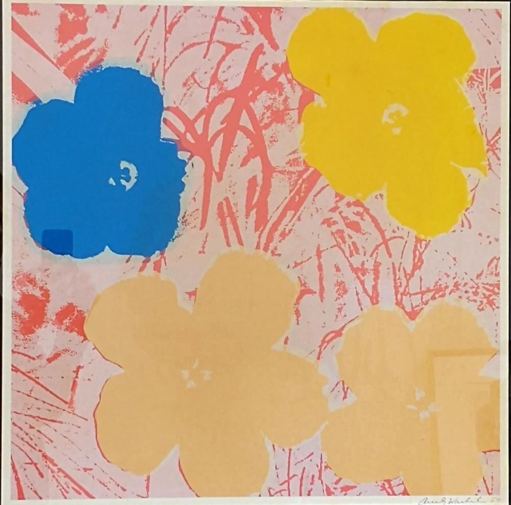 Lithograph, Signed and Dated 64, Andy Warhol