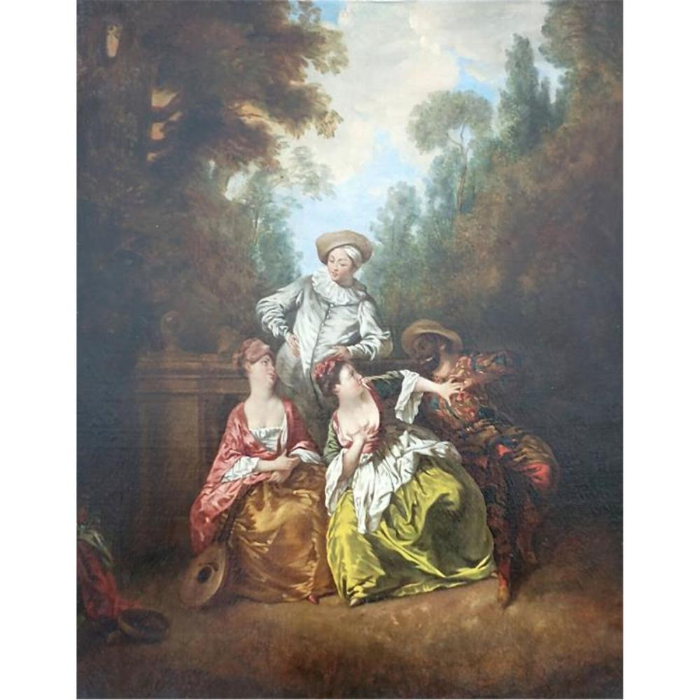 Painting Oil on Canvas, Jean-Baptiste Pater