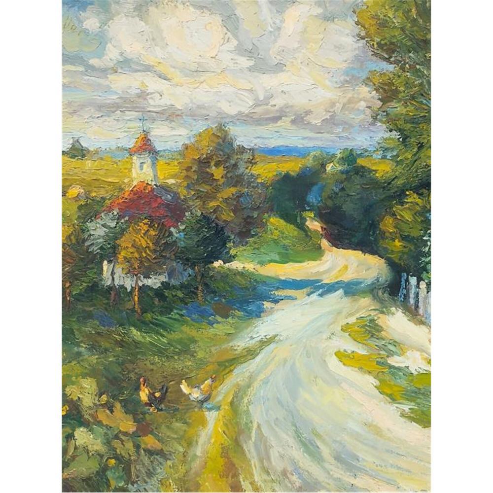 Painting Oil on Canvas by Rajmund Nykowski