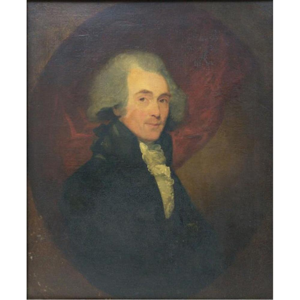 Painting Oil on Canvas by Gilbert Stuart.