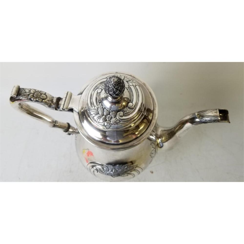 Rare S. Kirk Baltimore Silver Coffee Pot