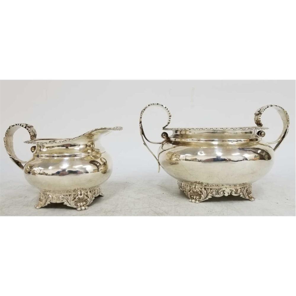 4pc Sterling Silver William Bateman Tea & Coffee