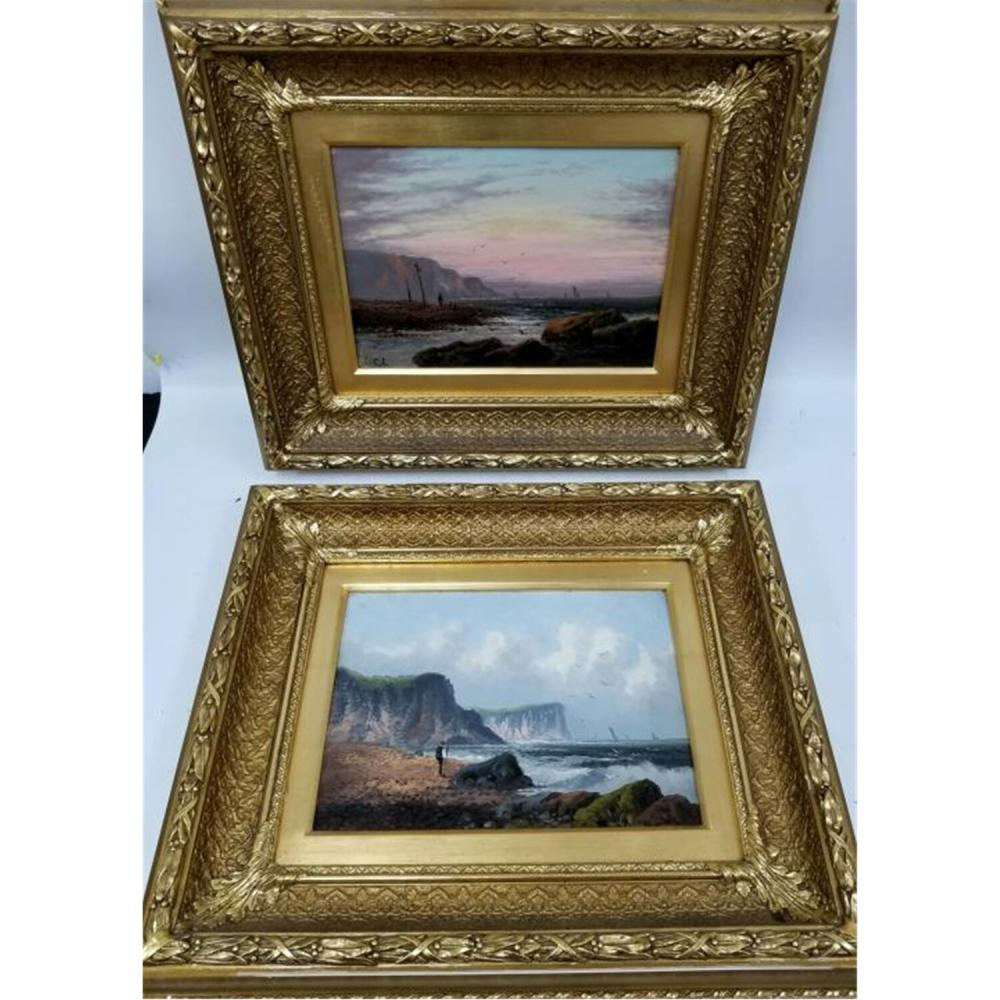 Paintings Pair of Oil on Canvas