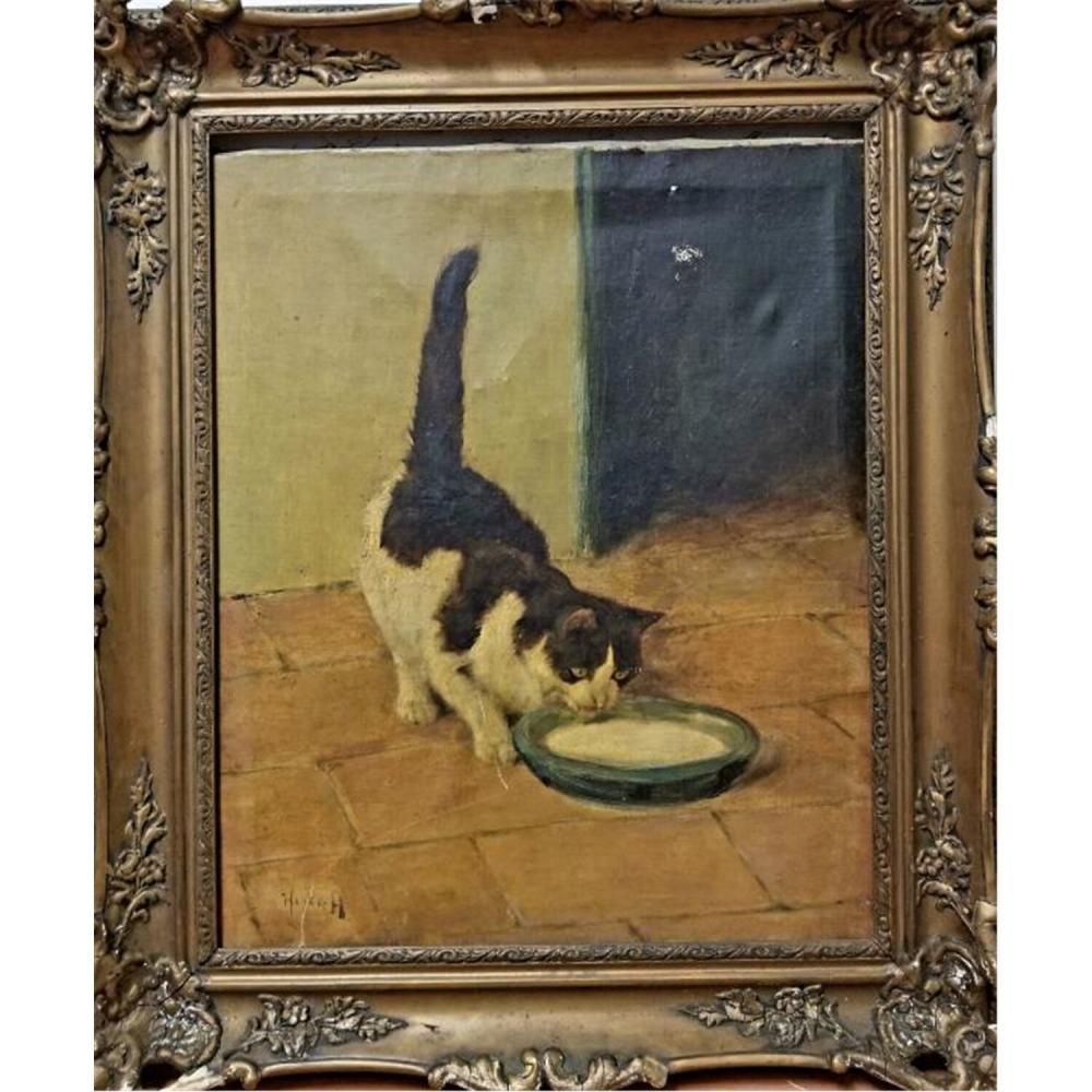Painting Oil on Canvas by Arthur Heyer, German
