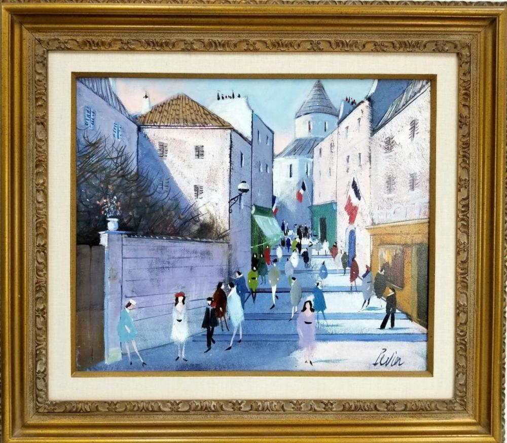 Painting Oil on Canvas by Charles Levier, French