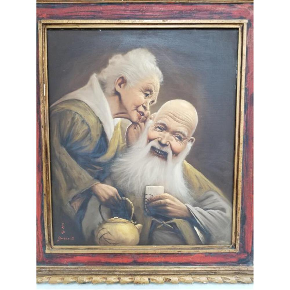 Painting Oil on Canvas Signed