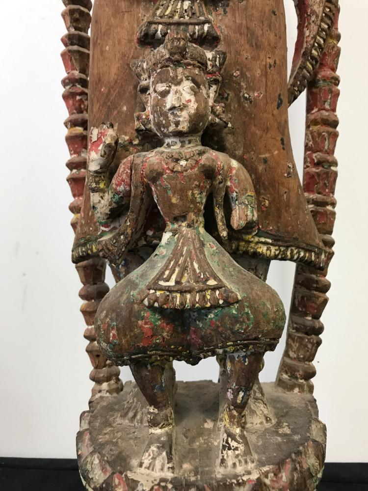 19th Century Indian Wood Sculpture